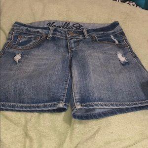 Vanilla Star Jean Shorts